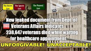 Our Veterans Suffered Unbelievable Pain and Died Unnecessary Deaths